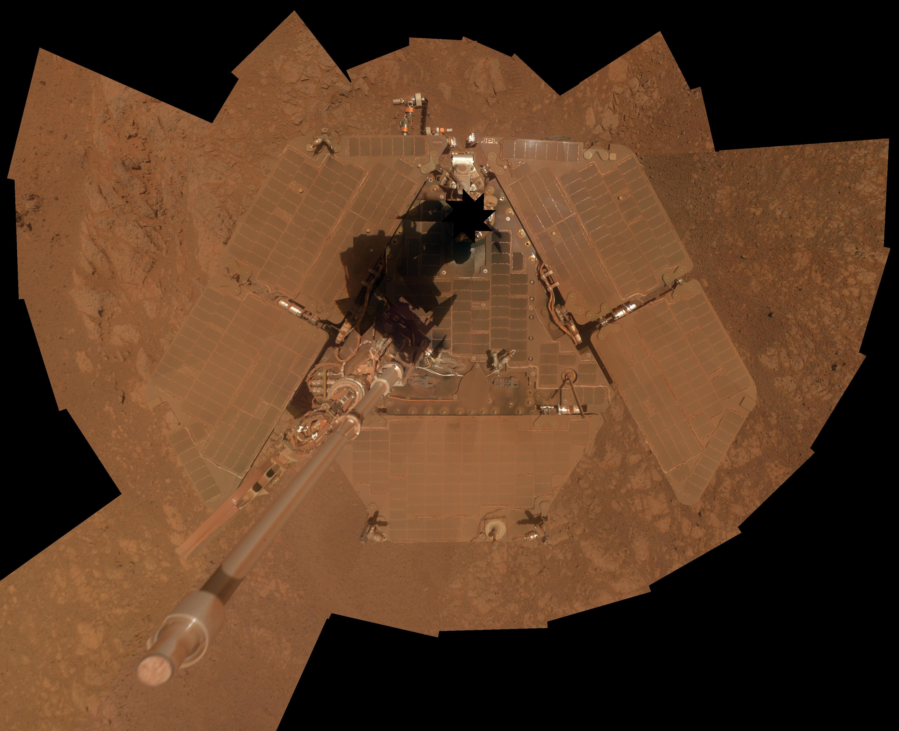 What a Rover Looks Like After a Decade on Mars
