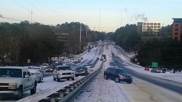 Why the South Fell Apart in the Snow