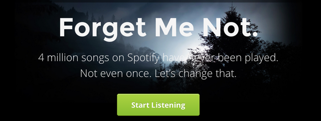 Explore Spotify's Millions of Unplayed Songs with Forgotify
