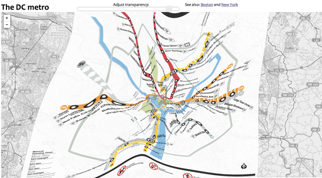 These Geographically Accurate Subway Maps Reveal Where Trains Really Go