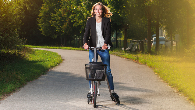 Can't Choose Between Biking or Roller Blading? Now You Don't Have To