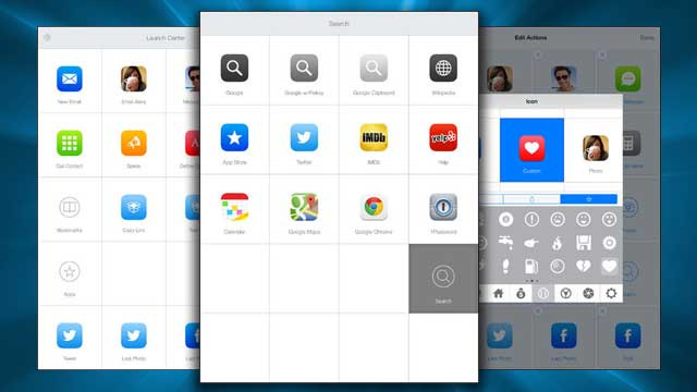 Launch Center Pro Brings App Shortcuts to the iPad