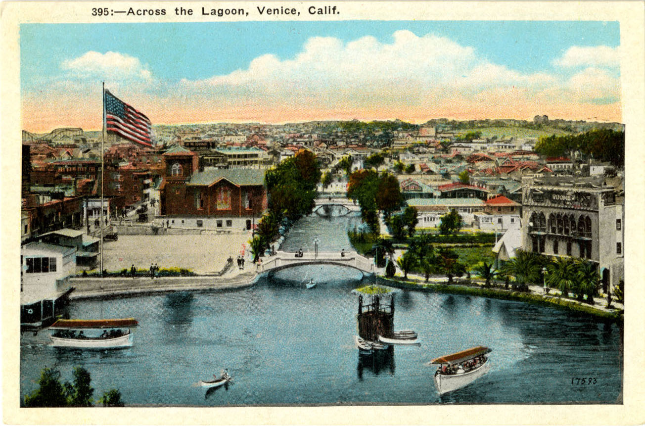 Paved Streets Near California's Venice Beach Were Once Canals