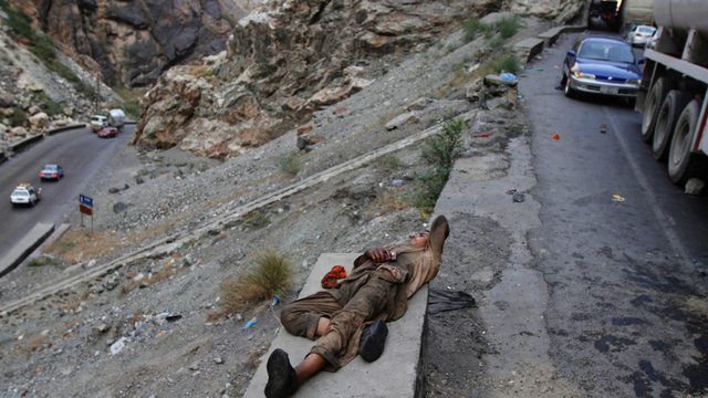 Roads In Afghanistan Are Falling Apart