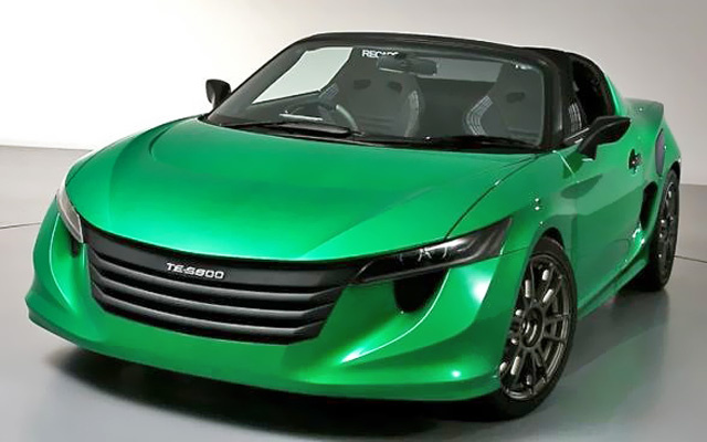 Off-Duty Toyota Engineers Build MR2 Hybrid Roadster