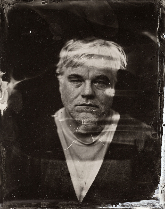 This Beautiful Tintype Portrait Of Hoffman Will Haunt Us Forever