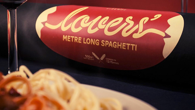 Giant Meter-Long Spaghetti Lets You Live Out Lady and the Tramp