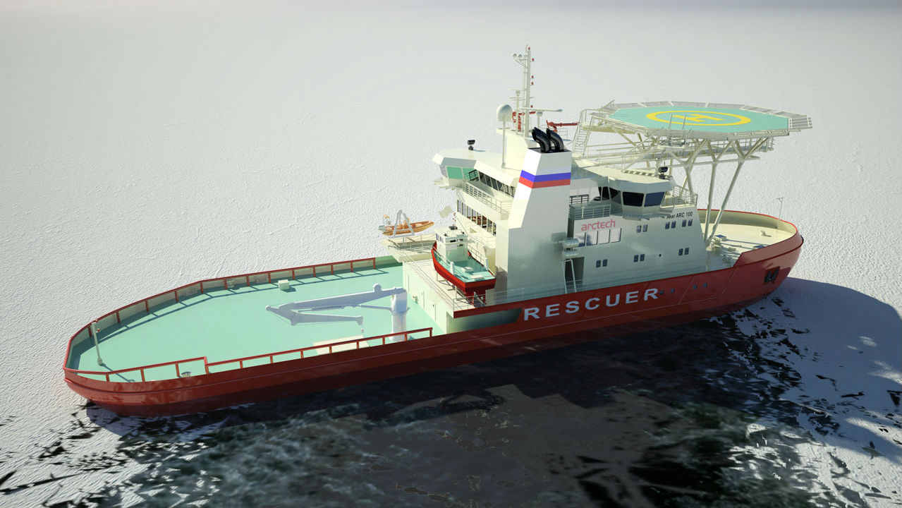Monster Machines: How Far Can This Ship Shift Sideways? Enough To Break The Ice