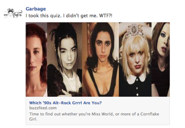 Shirley Manson Takes Buzzfeed 39 S Alt Grrrl Quiz Doesn 39 T Get Herself