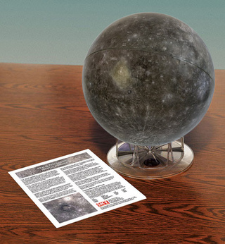 Check out the first complete globe of the planet Mercury