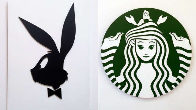 Cartoon Characters Logo : What if famous brands used cartoon characters as
