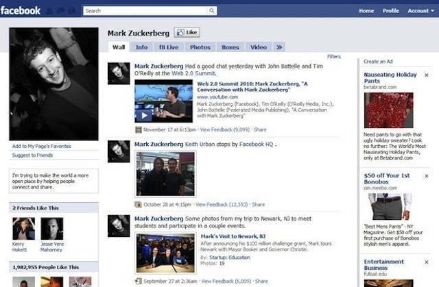 The Most Important Facebook Redesigns in Its 10-Year History