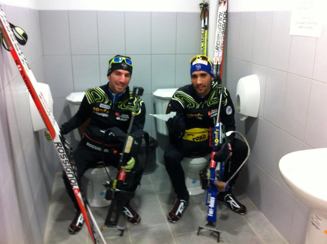 The Sochi Double Toilets Are Real!