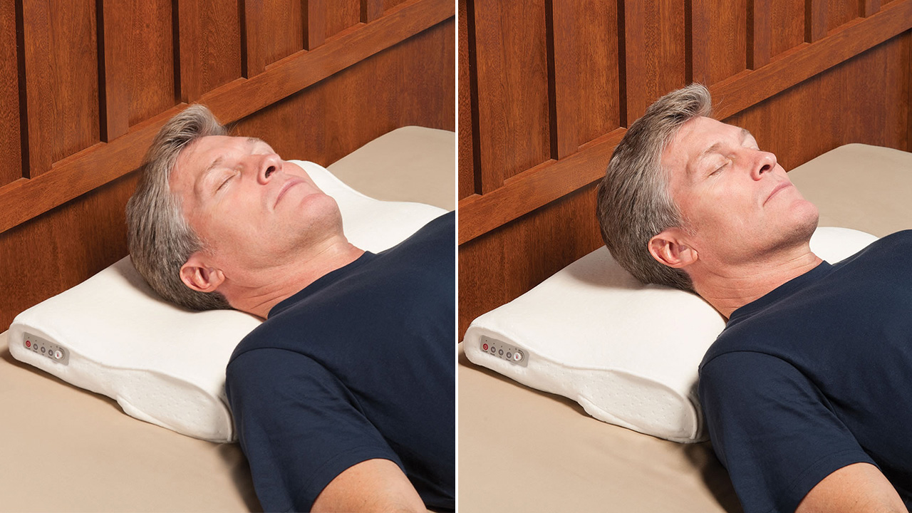 Snore-Sensing Pillow Automatically Nudges You To Roll Over