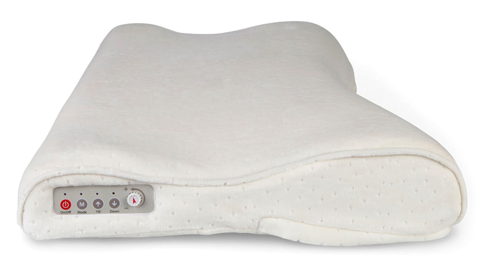 Snore Sensing Pillow Automatically Nudges You To Roll Over