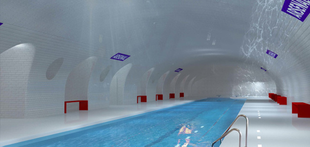 A Plan to Turn Abandoned Subway Stations Into Pools, Bars, and More