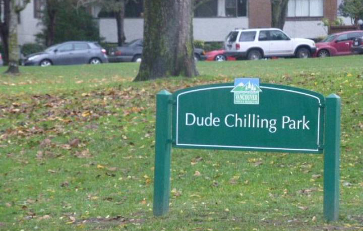 Vancouver Moves Closer To Officially Naming A 'Dude Chilling Park'