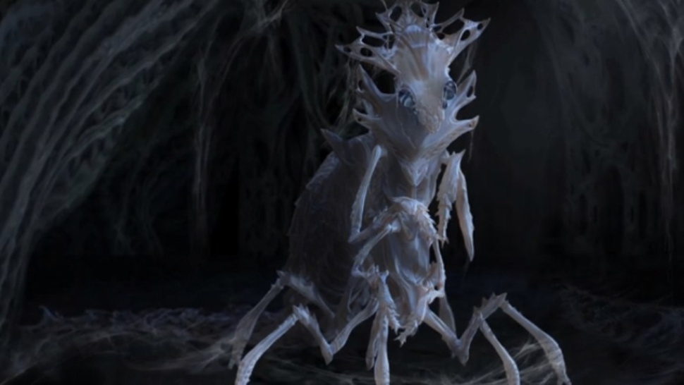 Ender's Game concept art shows off the movie's amazing creature design