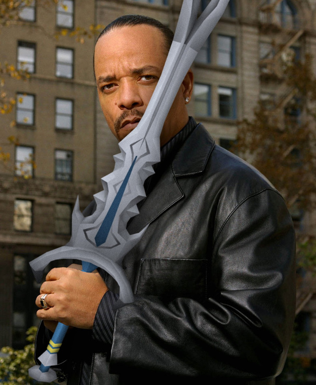"Ice-T records D&D audiobook: ""This s%!t is impossible to read."""