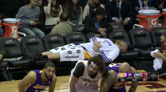 Chris Kaman Just Doesn't Give A Shit
