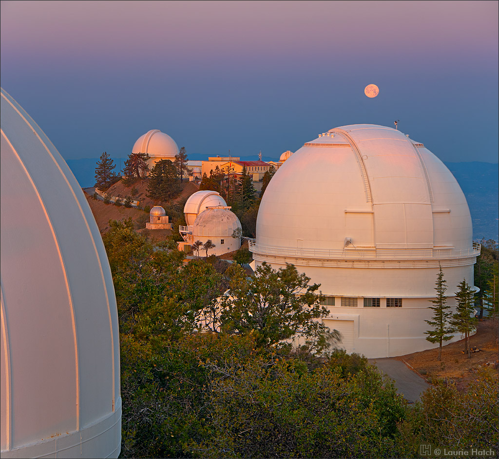 Stunning photos of Lick Observatory by Laurie Hatch