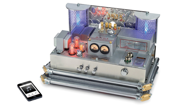 Sound-Enhancing Bluetooth Tube Amp Doubles as Cheesy Sci-Fi Prop