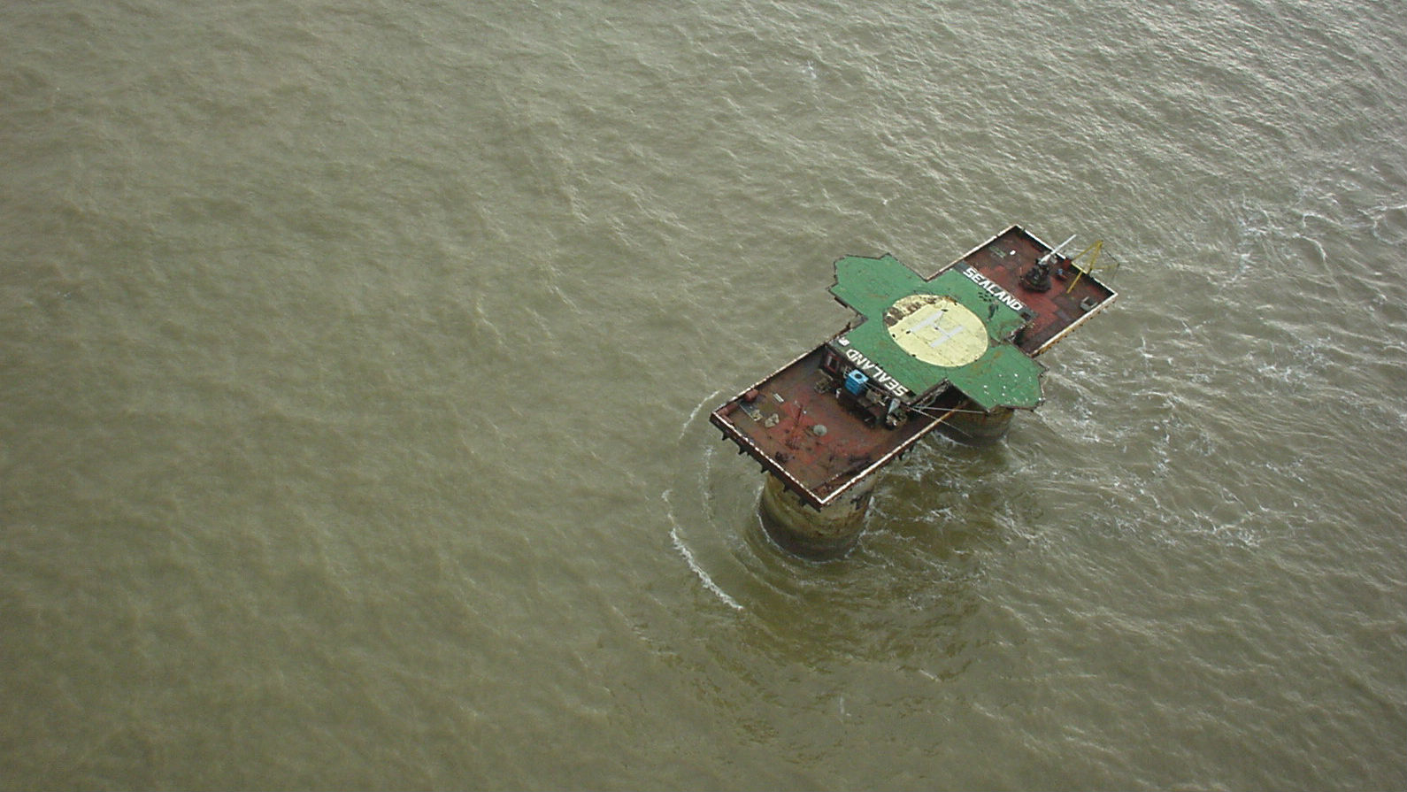 Sealand: The Island Nation Founded By A Guy Calling 'Dibs'