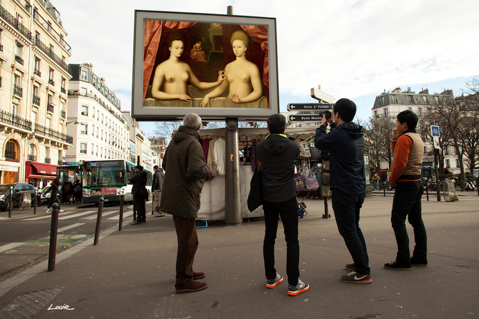 What If All The Ads In The World Were Replaced By Beautiful Art?