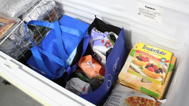 Organize a Chest Freezer with