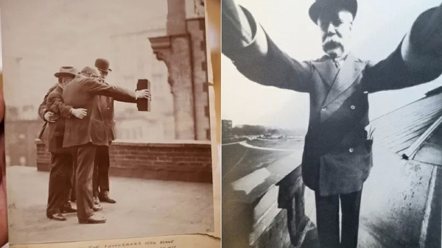 These Century-Old Selfies Make