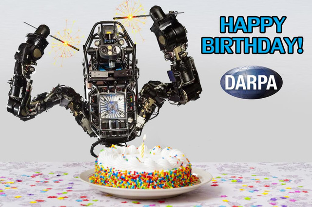 Here's DARPA's Hilariously