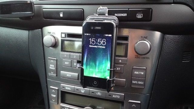 Build a Smartphone Holder Into