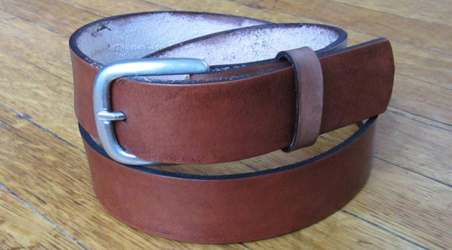 Make Your Own $  100 Belt for Less Than Half the Price