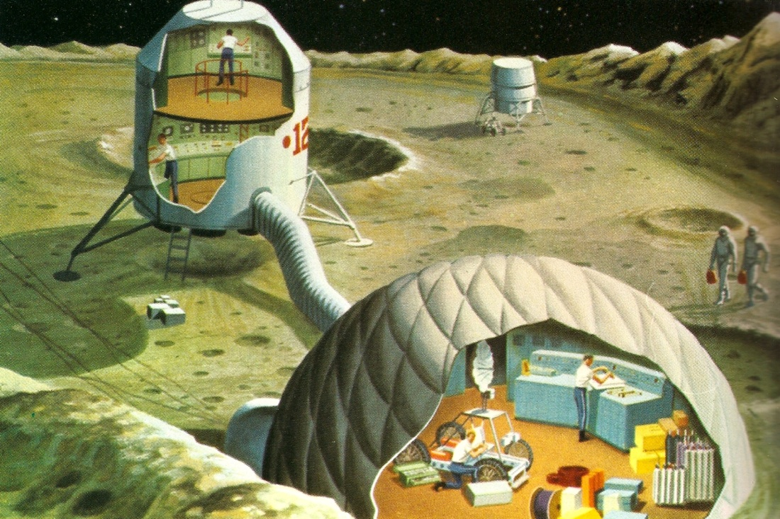 A Moon Base From The Past