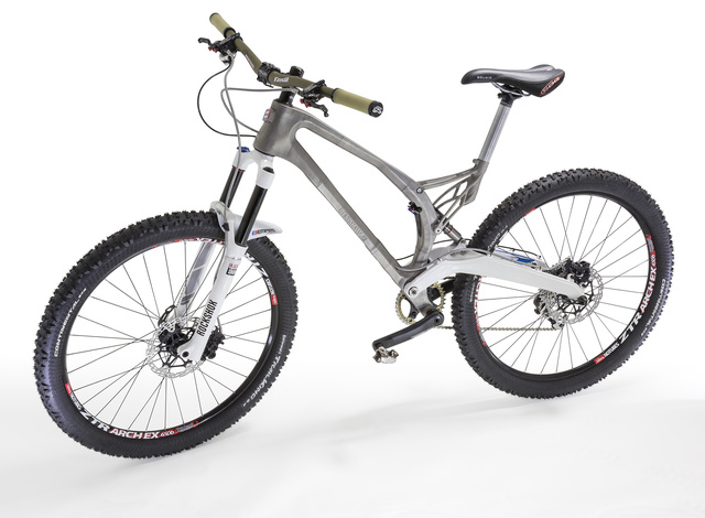 You Could Download and Print This Titanium Bike Frame