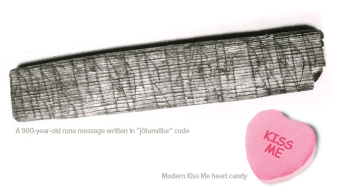 Scholar Discovers Kiss Me Valentine Written By Vikings 900 Years Ago