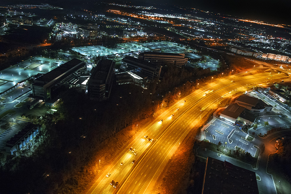 Watching the Watchers: An Aerial Perspective On the NSA