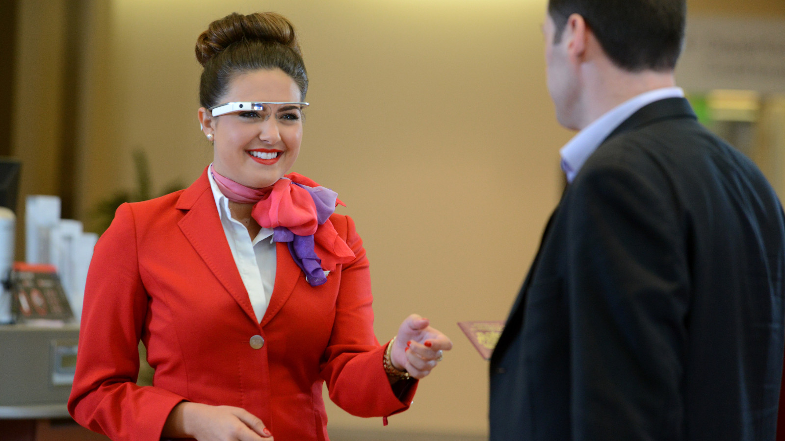 Virgin Atlantic Is Using Google Glass to Improve Check-Ins