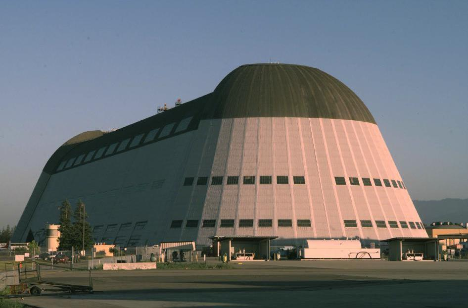 Google Bought a NASA Blimp Hangar To Go With Its Barge