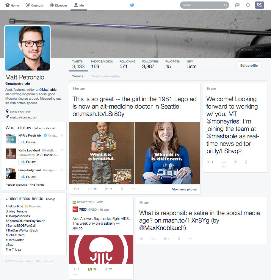 Twitter's Testing A Major Redesign (That Lifts From Facebook And Google)
