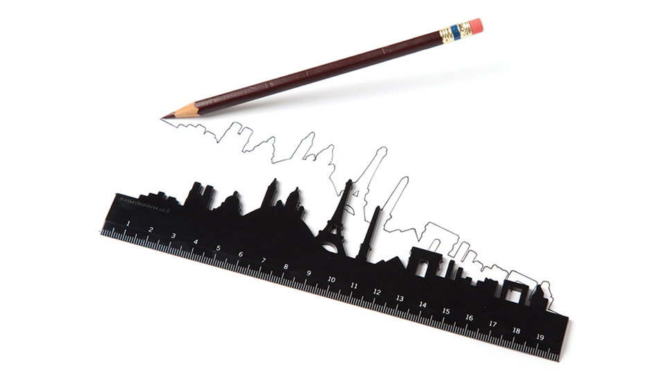 Draw A Straight Line Or A Skyline With These Famous City Rulers