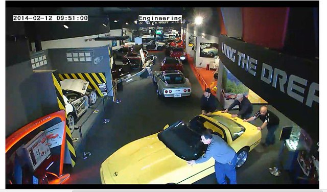 Corvette Museum Evacuates Their Cars Most At Risk From