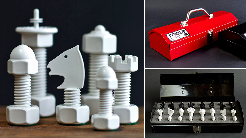 Toolbox Chess Sets Make You The Bobby Fisher Of Shop Class