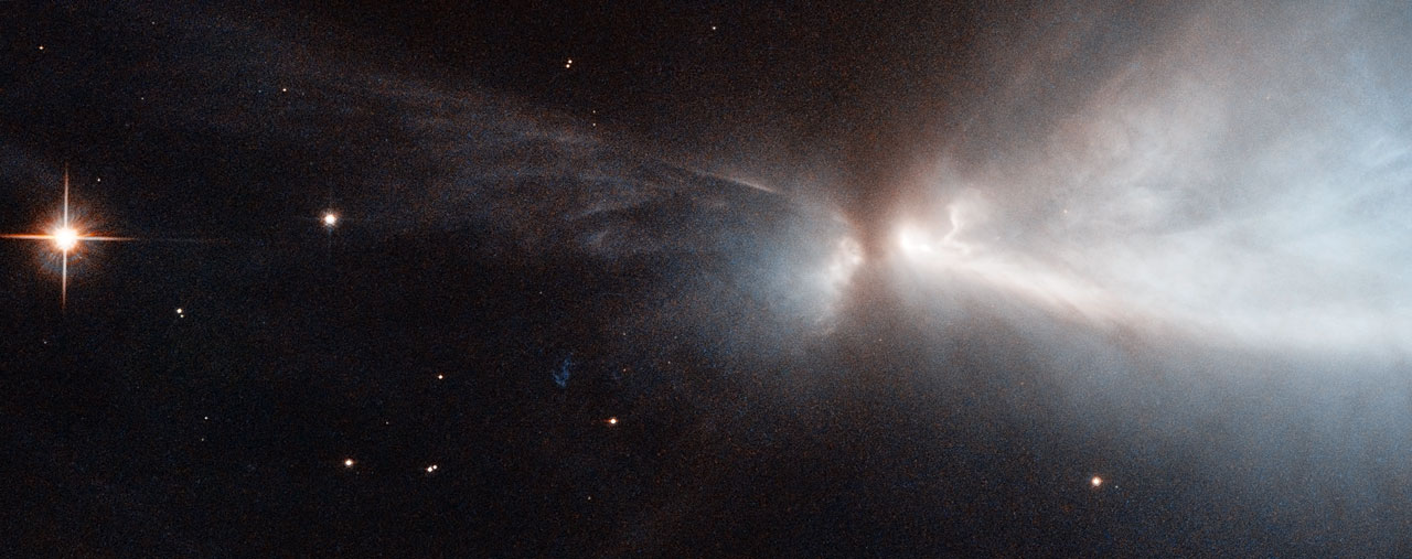 Hubble Captures Spectacular Star Birth