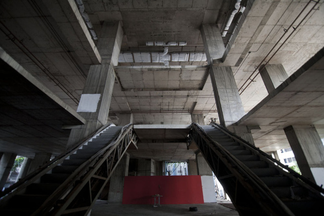 Inside Bangkok's Abandoned, Half-Finished Ghost Tower