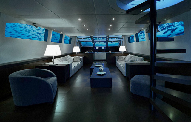A Single Night of Sex on This Luxury Hotel Submarine Costs $390,000