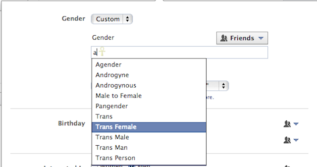 You Can Finally Choose Custom Gender Options on Facebook