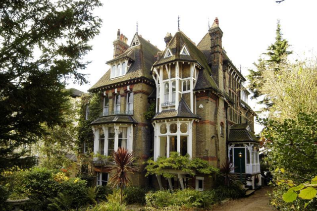 Who Wouldn't Want this Victorian Mansion With a Spaceship in the Attic?