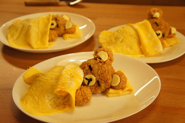 Animal Omelettes Make Mealtime Adorable