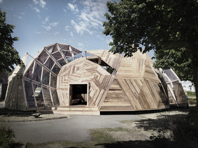 This Amazing Geodesic Dome Houses a Danish Political Throwdown